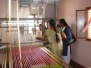 Grade VI students participated in silk weaving